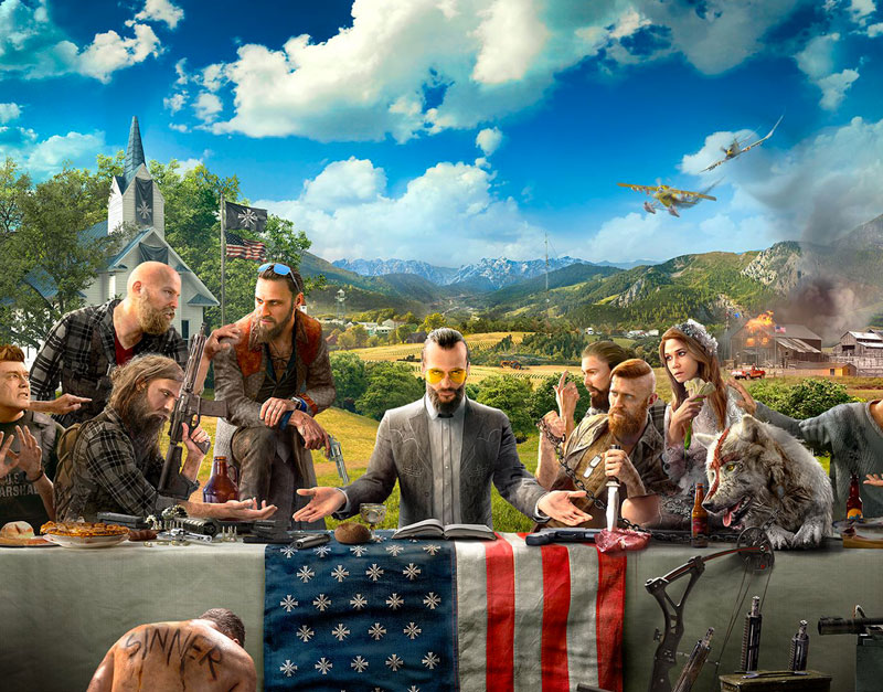 Far Cry 5 - Gold Edition (Xbox One), Fast Paced Gifting , fastpacedgifting.com