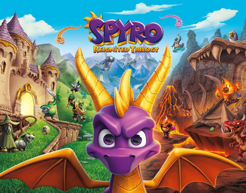 Spyro Reignited Trilogy (Xbox One), Fast Paced Gifting , fastpacedgifting.com